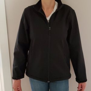 Women's Lands End Black jacket size M